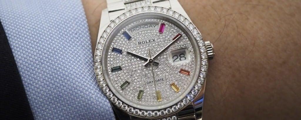 Rolex Day Date Rainbow 36mm