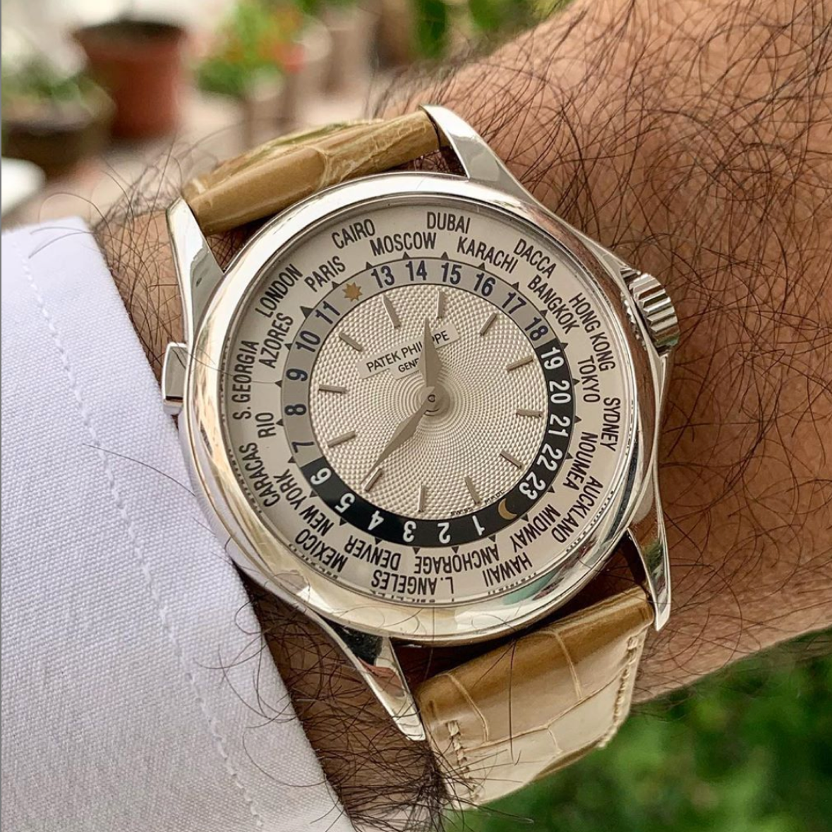 Picture 15 - Patek Philippe World Time 5110 WG