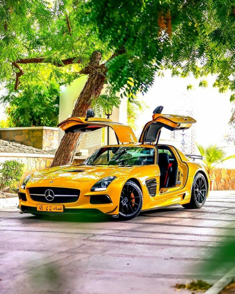 Mercedes-Benz SLS AMG Black Series by @k_cars