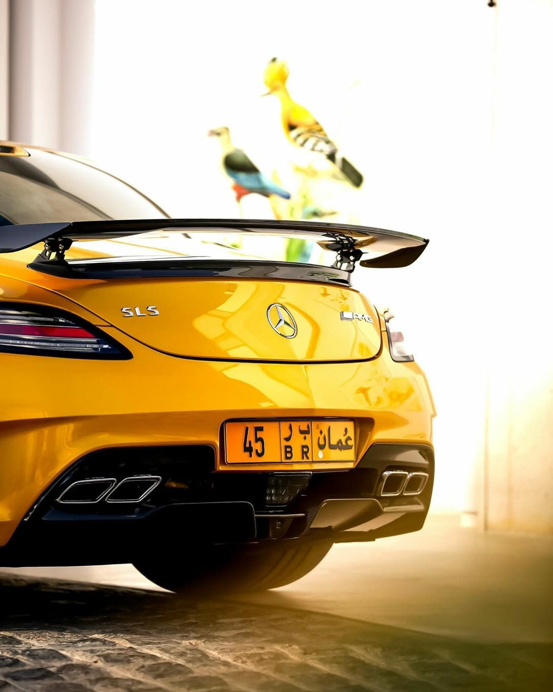 Mercedes-Benz SLS AMG Black Series by @k_cars Picture 7