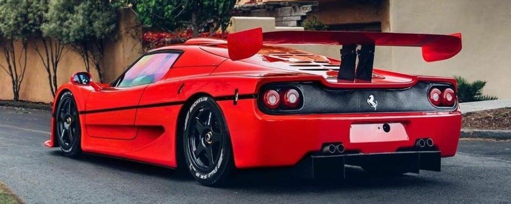 Ferrari F50 GT Cover