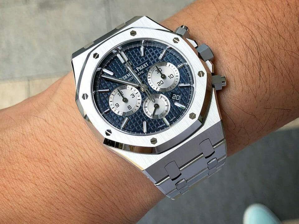 Nop's Audemars Piguet Royal Oak Chronograph 26331ST - 2