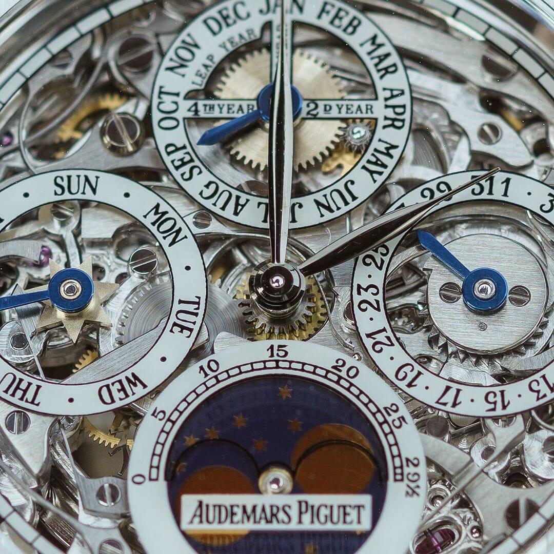 Audemars Piguet Royal Oak Openworked Perpetual Calendar 25829PT - 7