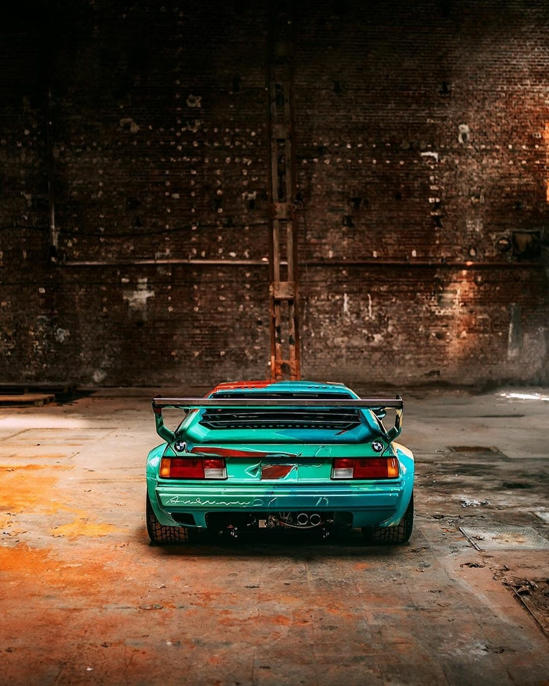 BMW M1 by Andy Warhol - BMW Art Cars - Picture 2 by Stephan Bauer