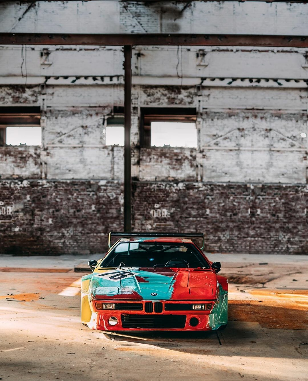 BMW M1 by Andy Warhol - BMW Art Cars - Picture 3 by Stephan Bauer