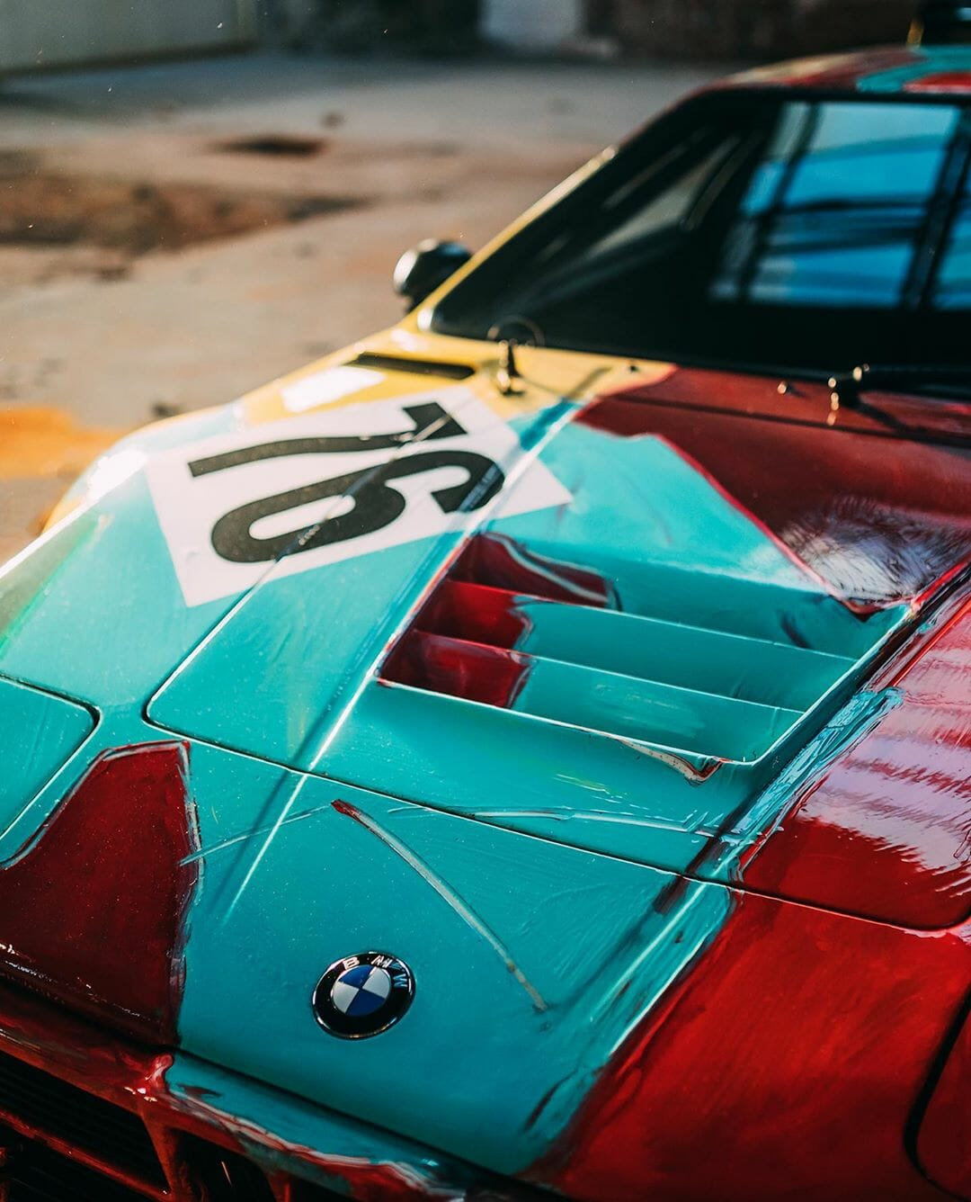 BMW M1 by Andy Warhol - BMW Art Cars - Picture 6 by Stephan Bauer