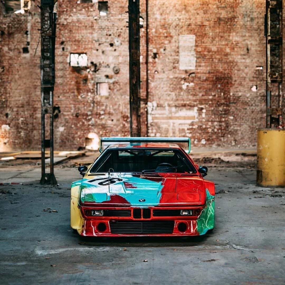 BMW M1 by Andy Warhol - BMW Art Cars - Picture 9 by Stephan Bauer