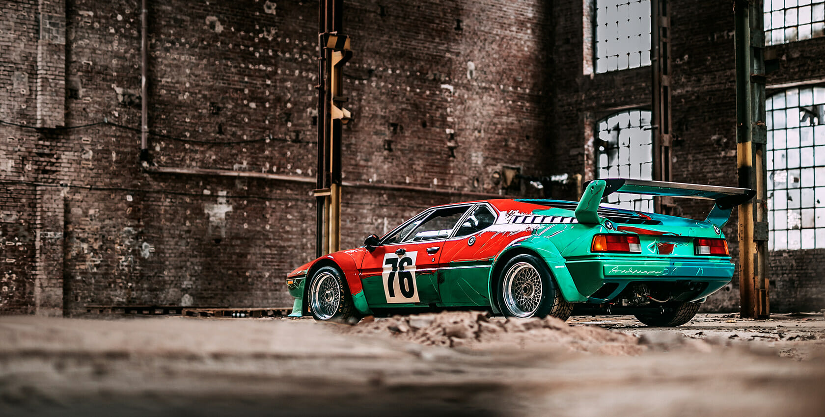 Cover Image - BMW M1 by Andy Warhol - BMW Art Cars by Stephan Bauer