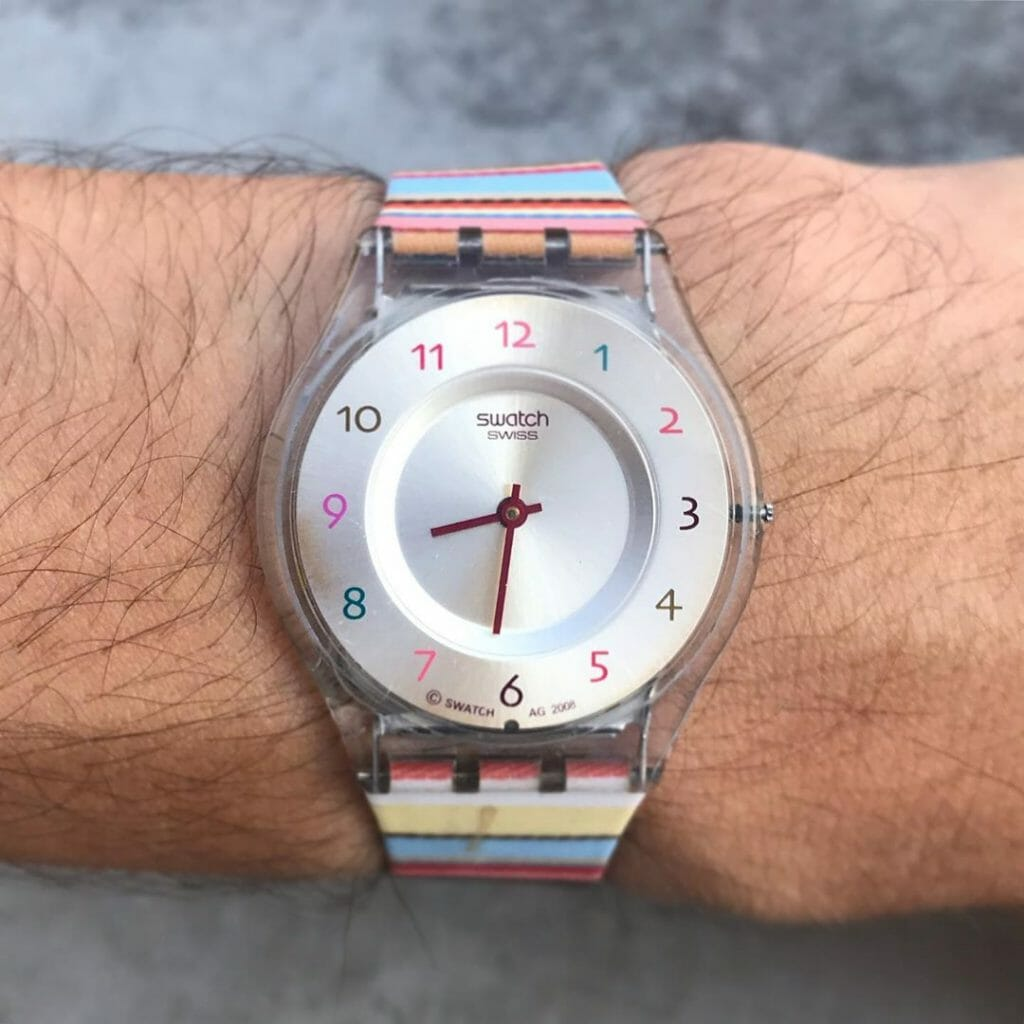 Swatch by IG @swatch_of_the_da