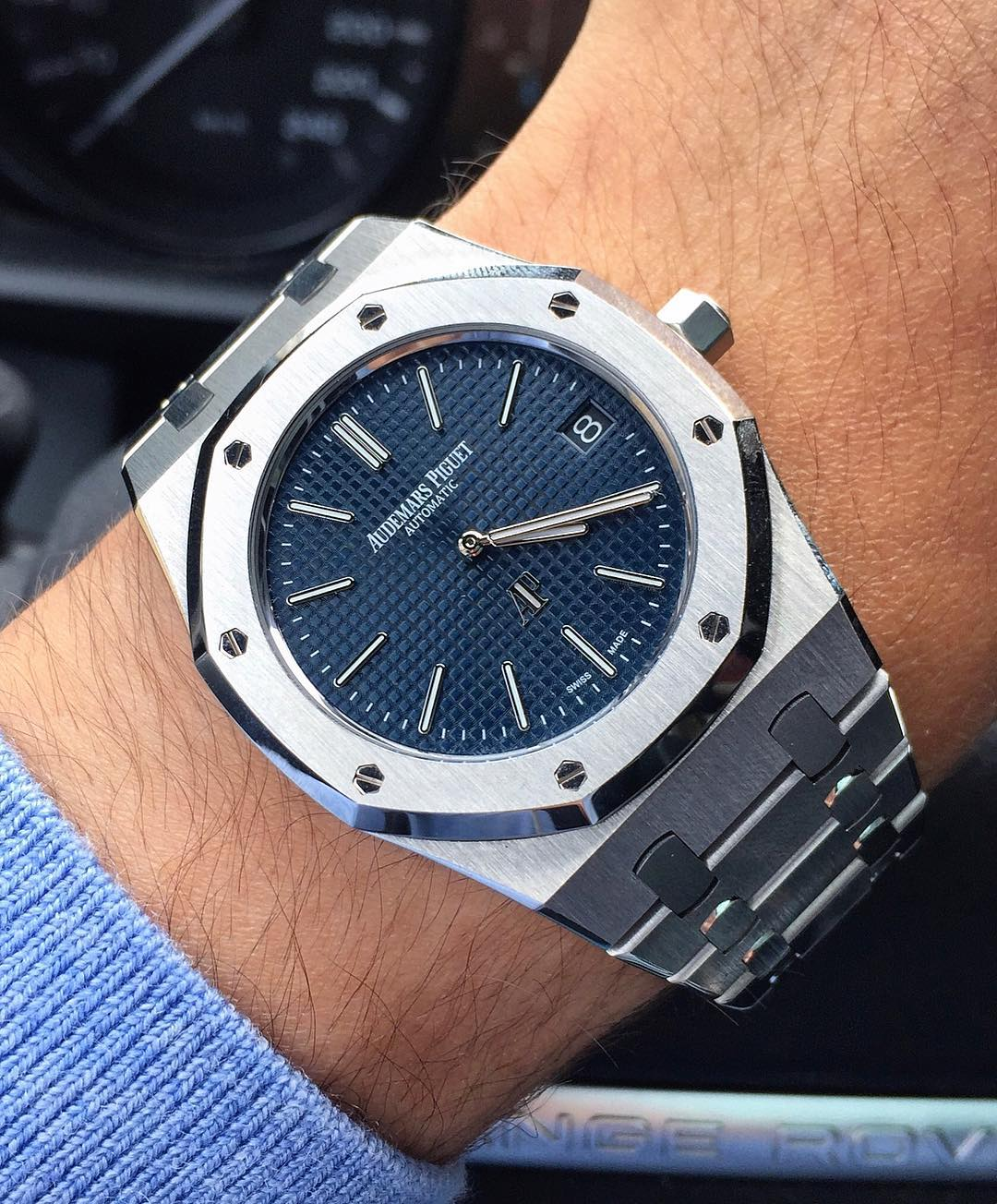 13 Audemars Piguet Royal Oak 15202ST by IG @watchrookiee - Image 1