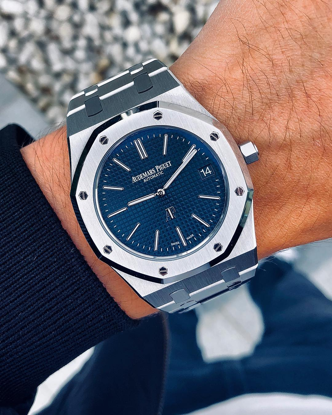 5 Audemars Piguet Royal Oak 15202ST by IG @watchrookiee - Image 2