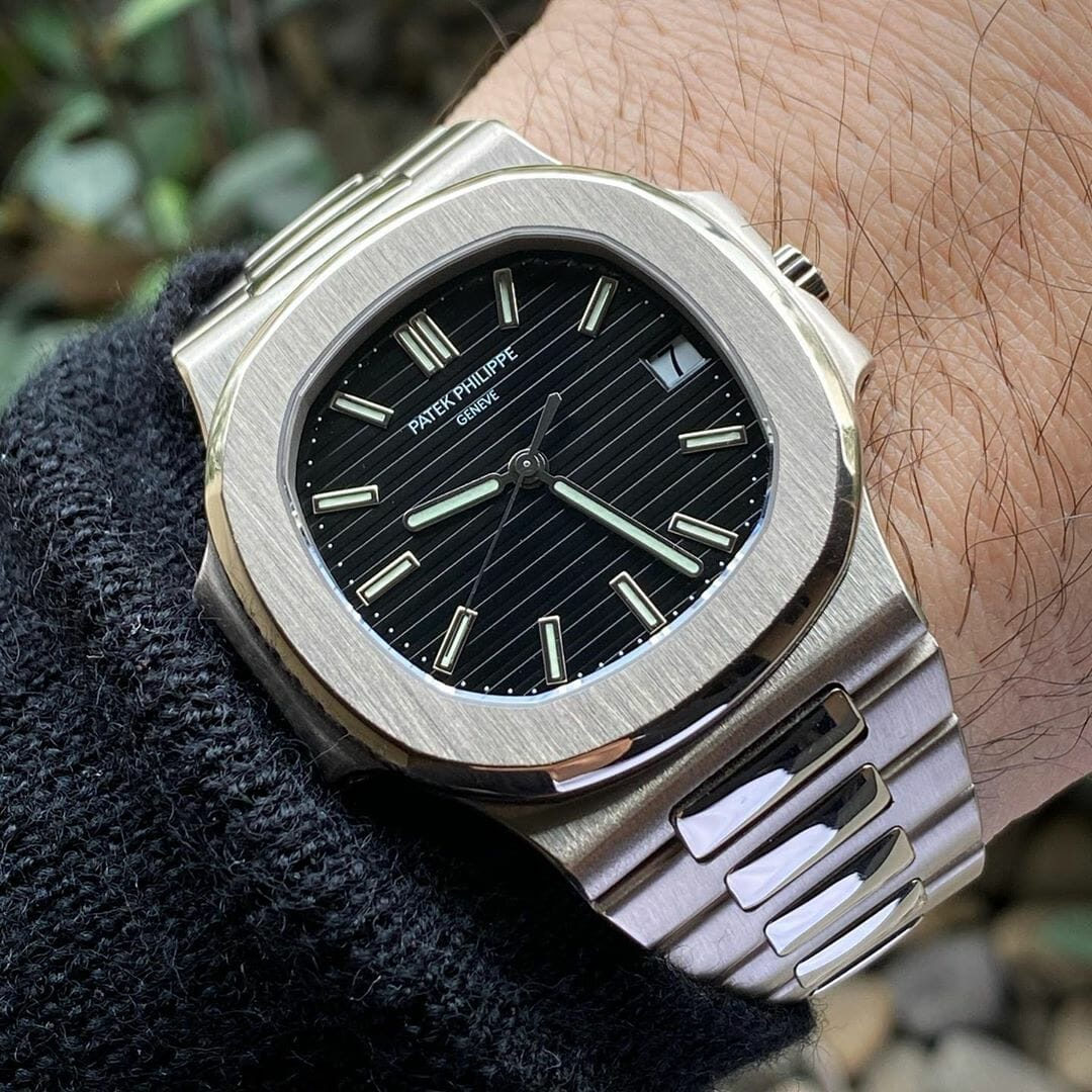 7 Patek Philippe Nautilus 3711G by IG @watchace