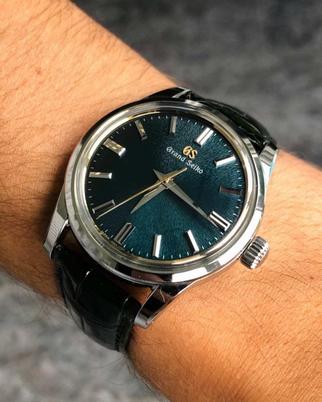 9 Grand Seiko SBGW255 Tongsa With Jadeite Green Dial by IG @watchrookiee - 1