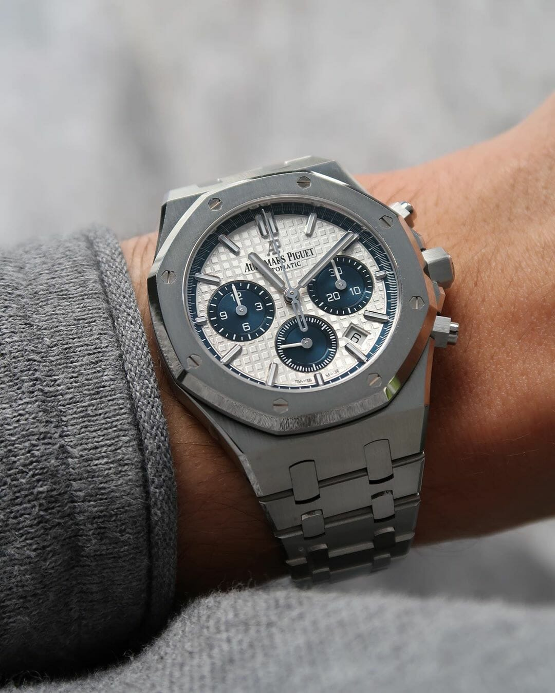 Audemars Piguet Royal Oak Chronograpgh Ref.26315ST by @watchrookiee