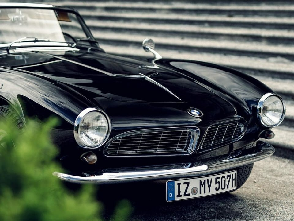 BMW 507 by IG @kenozache