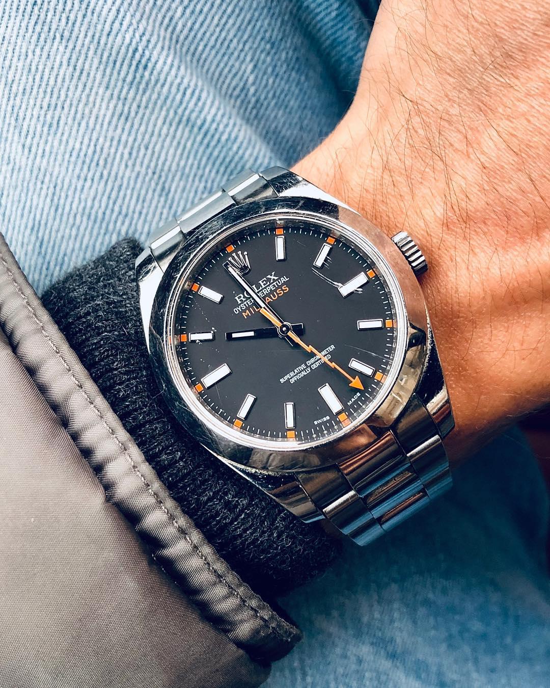 Rolex Milgauss Ref.116400 by @watchrookiee